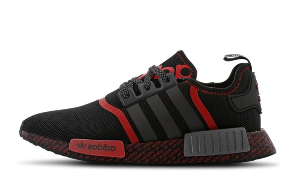 adidas NMD R1 Black Lush Red | Where To