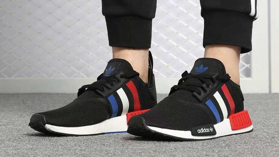 adidas NMD R1 Color Tri-Color On Foot