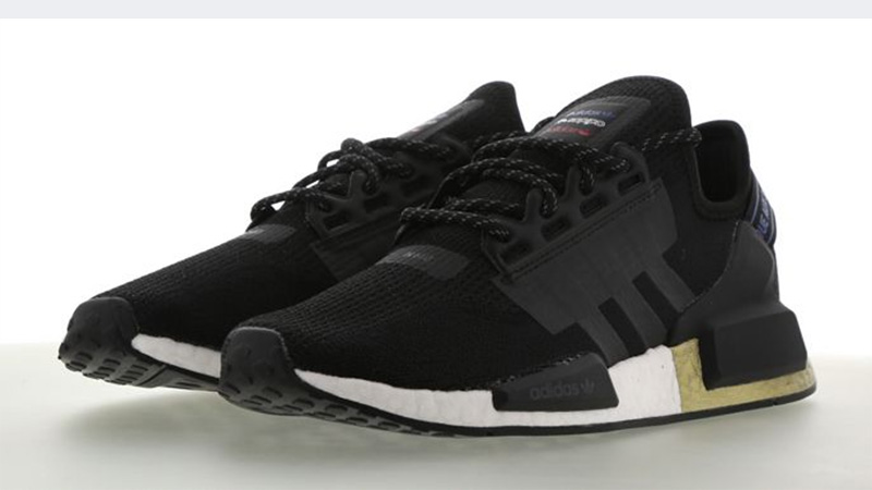 Adidas Nmd R1 V2 Black Gold Where To Buy Fw5327 The Sole