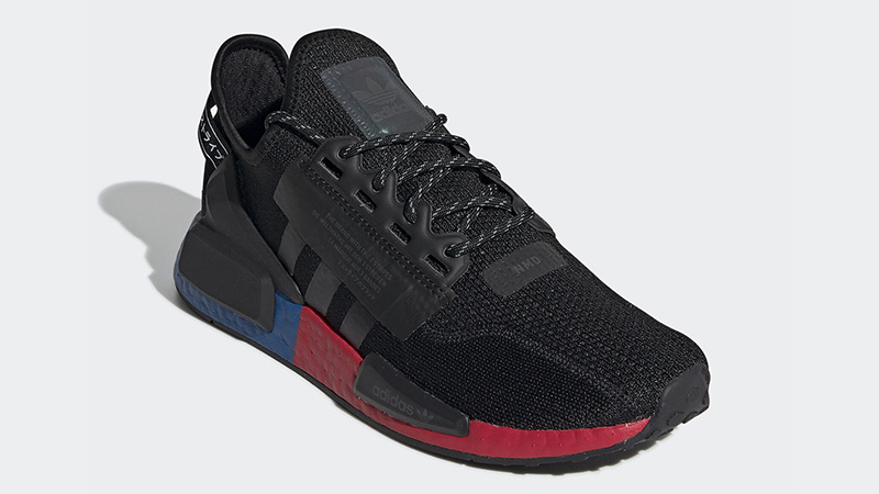 Adidas Nmd R1 V2 Black Red Where To Buy Fv9023 The Sole Supplier