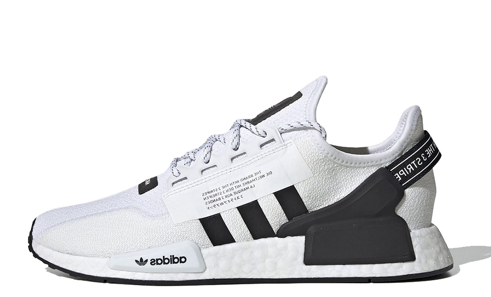 adidas NMD R1 V2 White Black FV9022