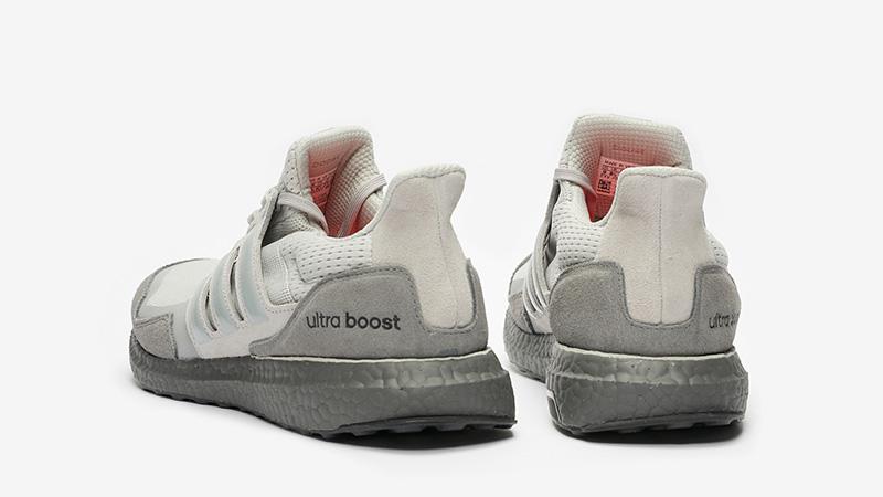 adidas Ultra Boost Grey White EF2026 back