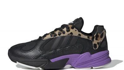 adidas Yung 1 Black Purple FV6447