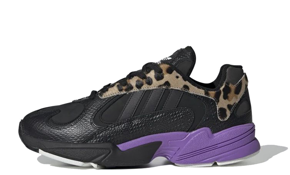 adidas Yung 1 Black Purple FV6447