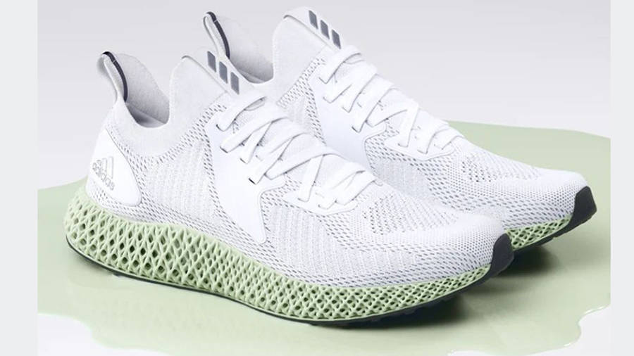 adidas alphaedge 4D Parley White FV4687 front