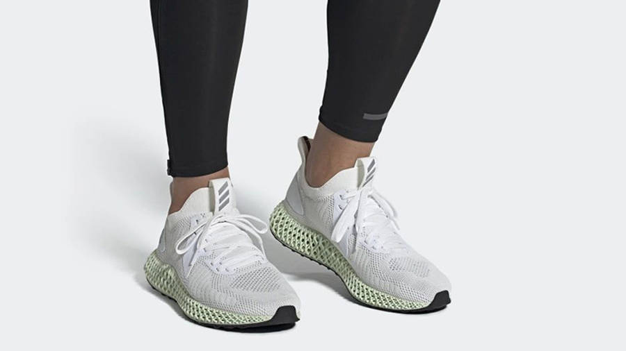 adidas alphaedge 4D Parley White FV4687 on foot