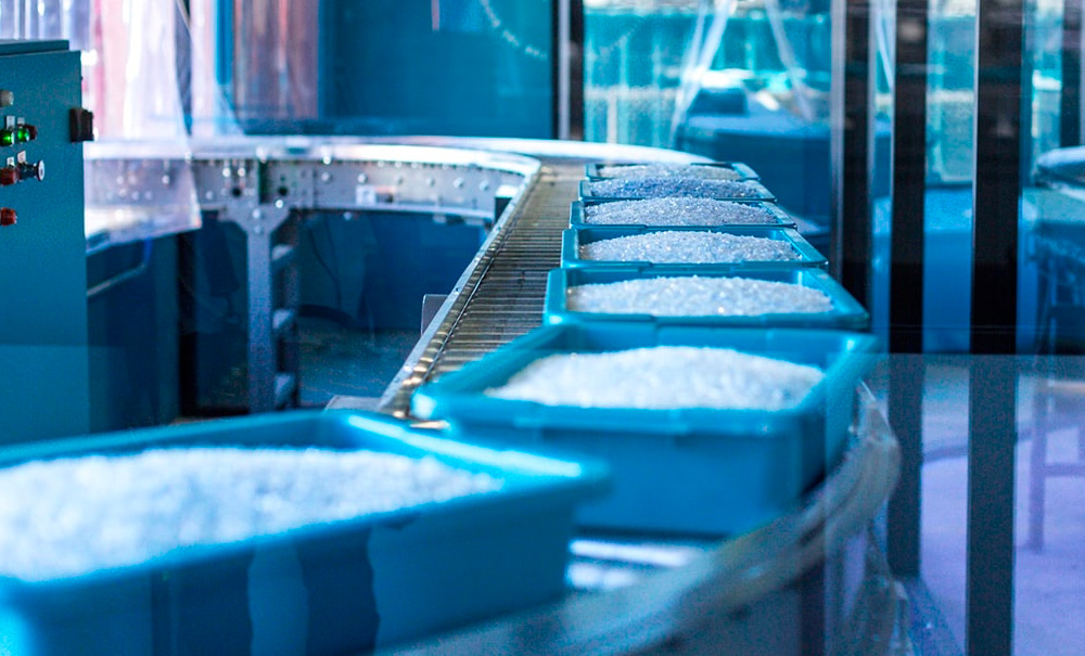 adidas parley production line