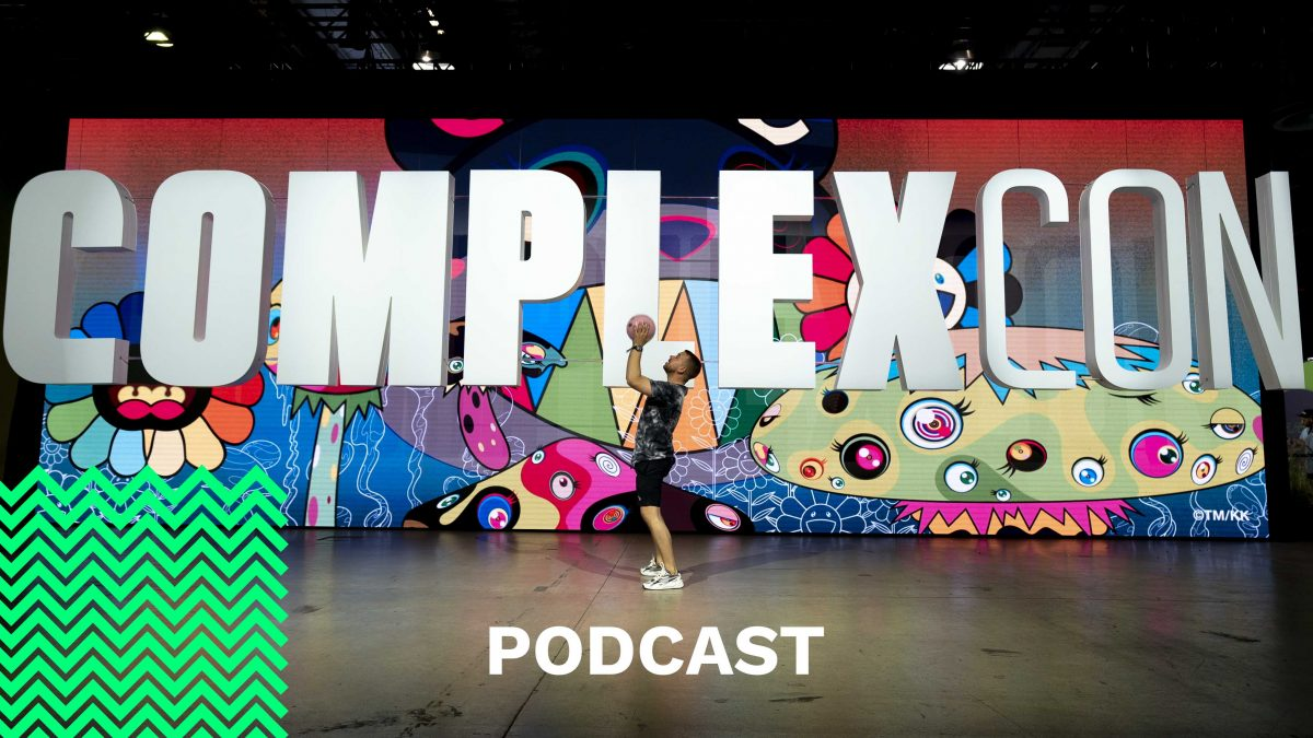 ComplexCon 2019 Sunset Edition | J2K aka Jason Black | The Sole Supplier Podcast #Se2 Ep2