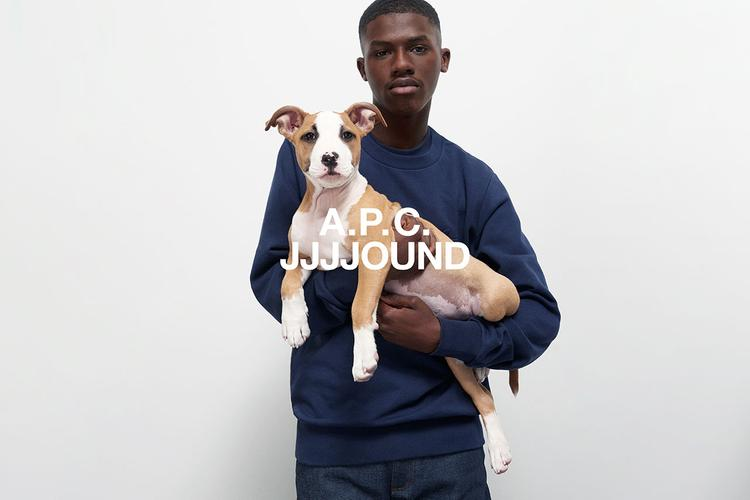 The JJJJound x A.P.C Collection Has Just Dropped At END.