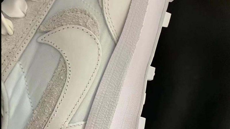 "Peep The Upcoming sacai x Nike LDWaffle ""Nylon White"""
