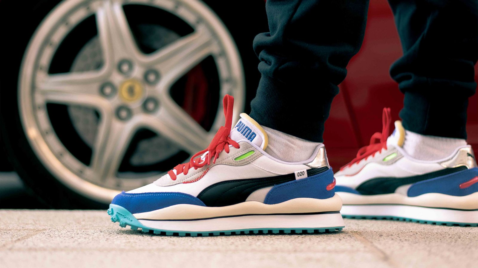 """Get Ready For The NEW PUMA Style Rider """"Ride On"""" 4"""