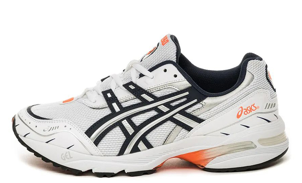 ASICS GEL-1090 White Orange 1021A275-100