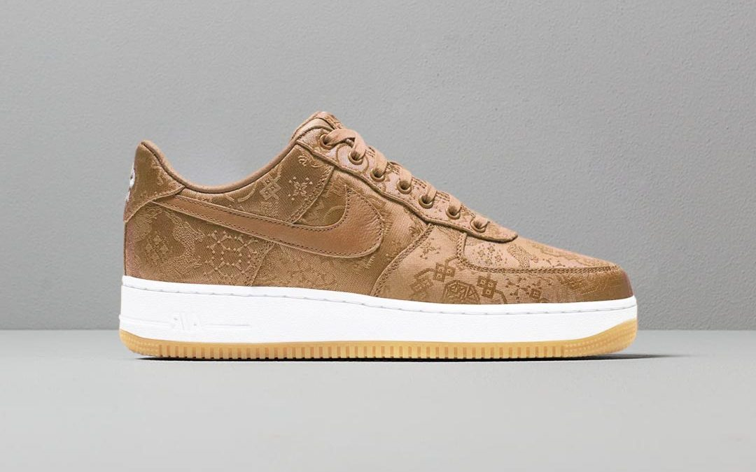 First Look At The CLOT x Nike Air Force 1