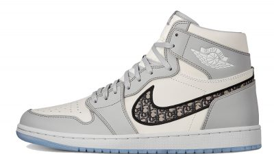 Dior x Jordan 1 High OG Grey