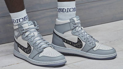 Dior x Jordan 1 High OG Grey   Where To Buy   CN8607-002   The ...