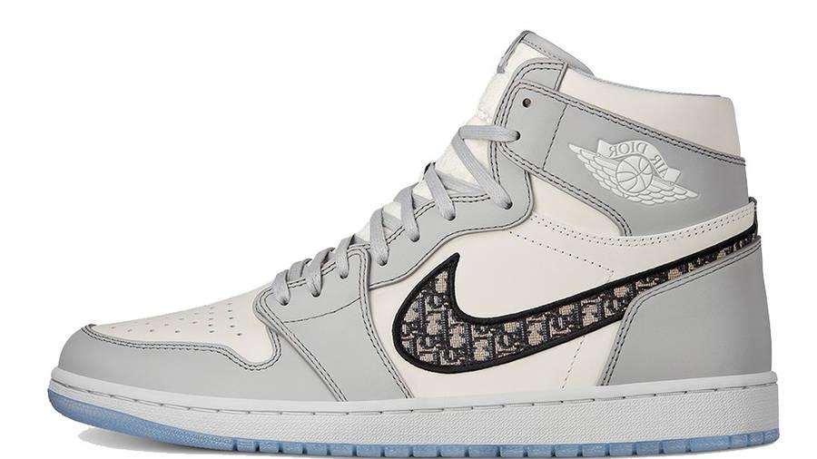 Dior x Jordan 1 High OG Grey | Where To Buy | CN8607-002 ...
