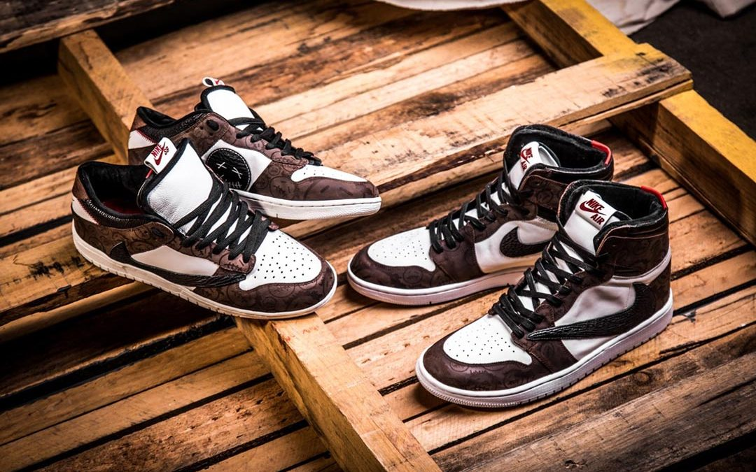 A Travis Scott x Nike SB Dunk Low