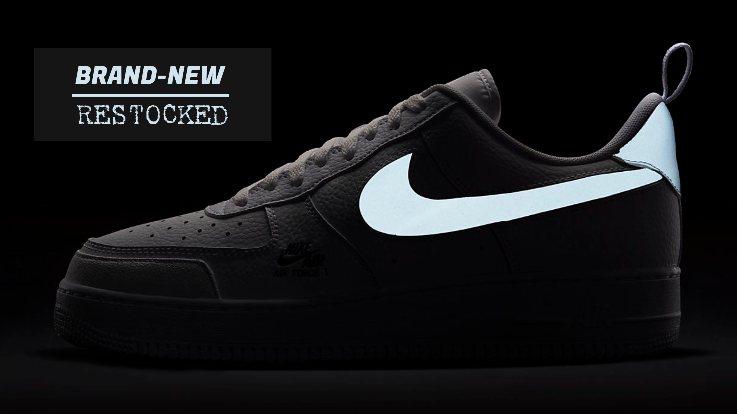 Restocked Nike Air Force 1s