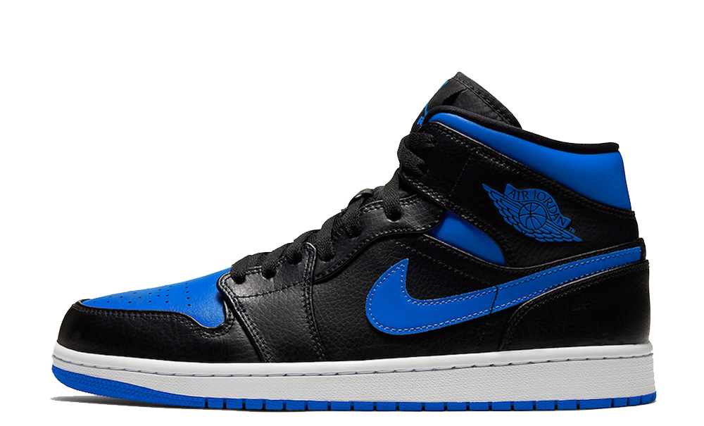 galería sangrado farmacéutico  Jordan 1 Mid Royal Blue - Where To Buy - 554724-068 | The Sole ...