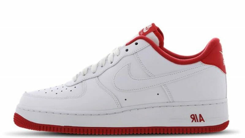 Nike Air Force 1 White Red Where To Buy Cd0884 101 The Sole