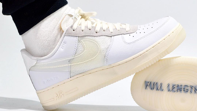 Nike Air Force 1 Low Dna White Where To Buy Cv3040 100 The