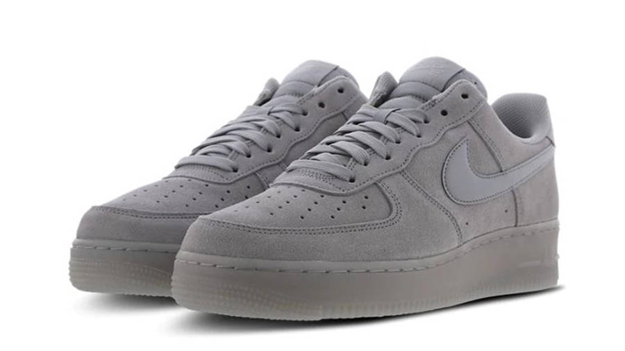 Nike Air Force 1 Low Grey   Where To Buy   BQ4329-001   The Sole ...