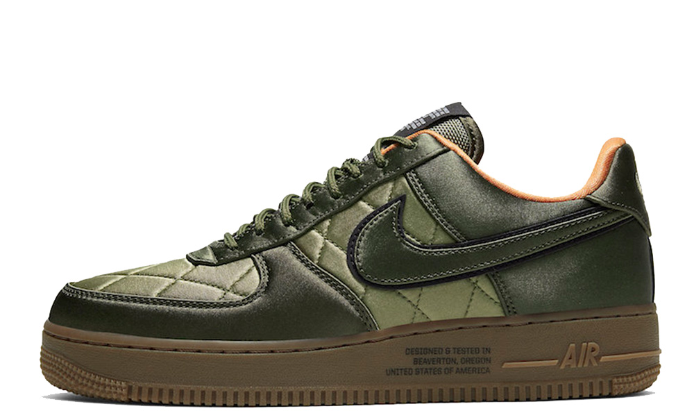 Nike Air Force 1 Low Quilted Olive CU6724-333