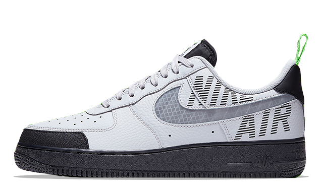 Nike Air Force 1 Low Under Construction Grey Green | BQ4421-001