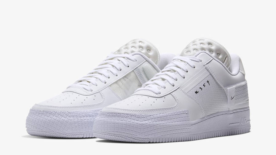 Nike Air Force 1 Type White CQ2344-101 front