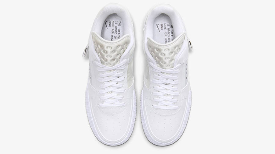 Nike Air Force 1 Type White CQ2344-101 middle