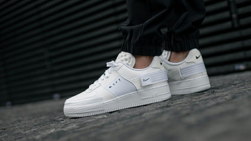 Nike Air Force 1 Type White Where To Buy Cq2344 101 The Sole