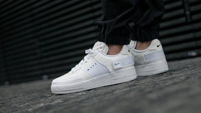 Nike Air Force 1 Type White On Foot