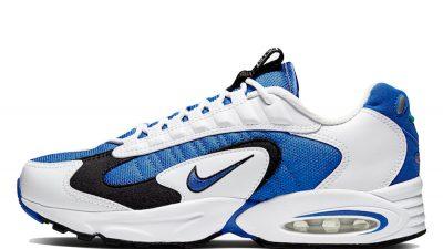 Nike Air Max Triax 96 White Blue CD2053 106 on foot