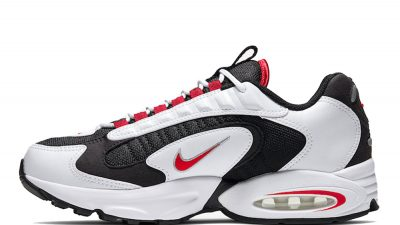 Nike Air Max Triax 96 White Red CD2053-105 on foot side