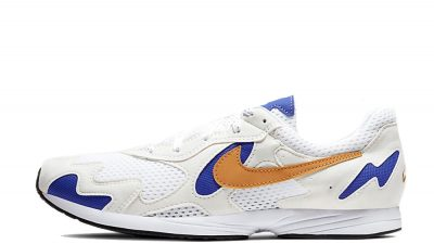 Nike Air Streak Lite White Blue CD4387-100 on foot