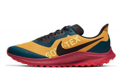 Nike Air Zoom Pegasus 36 Trail Gore-Tex Gold Red CT9137-700