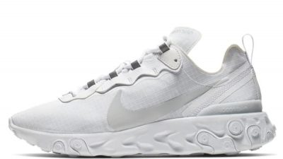 Nike React Element 55 Premium White