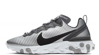 Nike React Element 55 Silver Grey CI3835-001