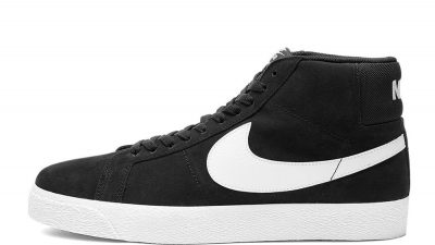 Nike SB Blazer Mid Black And White 864349-002