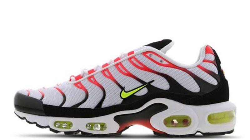 Nike TN Air Max Plus White Orange CI3714-100