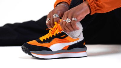 "How To Style The PUMA Style Rider OG ""Vibrant Orange"""