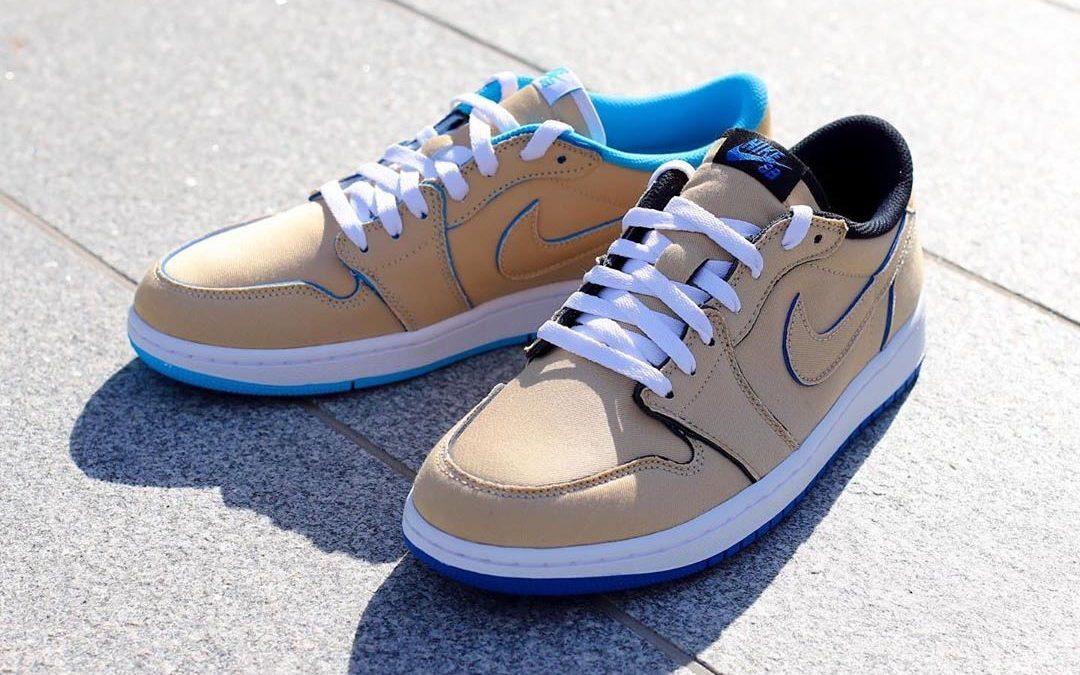 Nike SB Air Jordan 1 Low Desert Ore Raffles