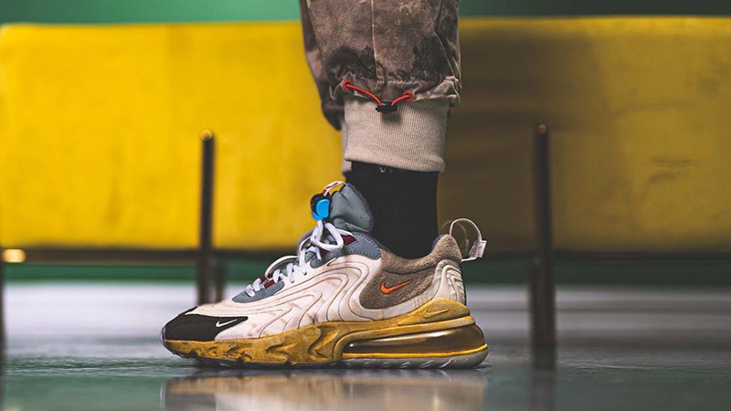 Travis Scott X Nike Air Max 270 React Cactus Jack Where To Buy Ct2864 200 The Sole Supplier