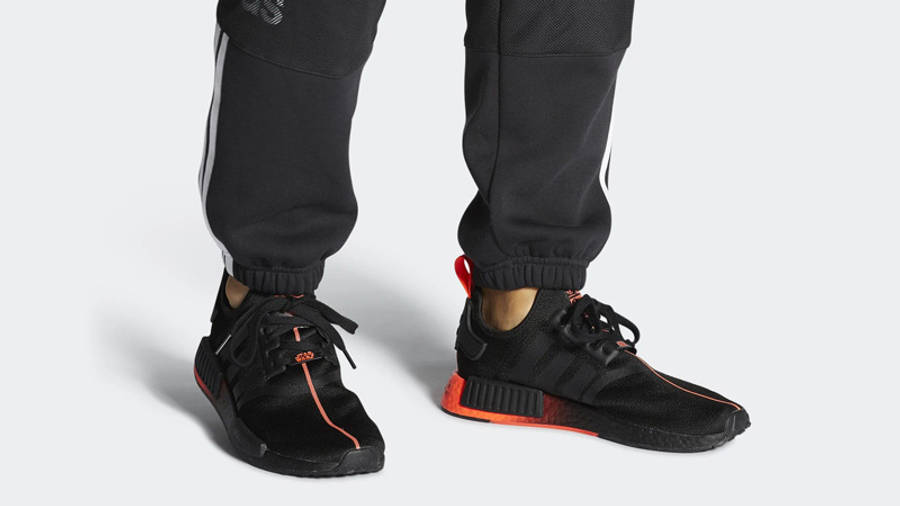 Star Wars x adidas NMD R1 Black Red   Where To Buy   FW2282   The ...