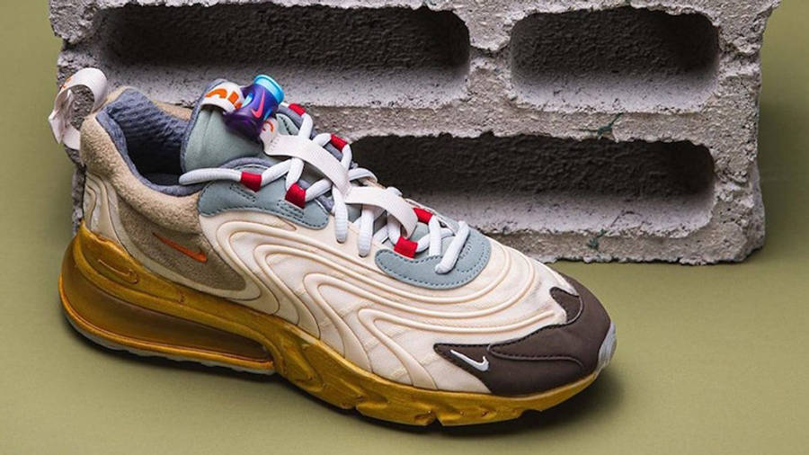 Travis Scott x Nike Air Max 270 React Cactus Jack Lifestyle Bottom