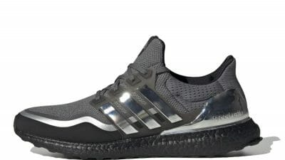 adidas Ultra Boost Metallic Silver Black EG8103