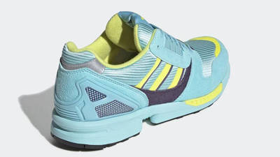 adidas ZX 8000 Aqua Yellow EG8784 back