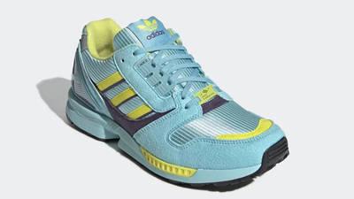 adidas ZX 8000 Aqua Yellow EG8784 front