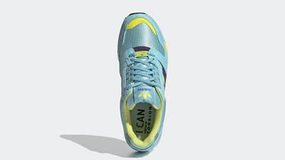 adidas ZX 8000 Aqua Yellow EG8784 middle