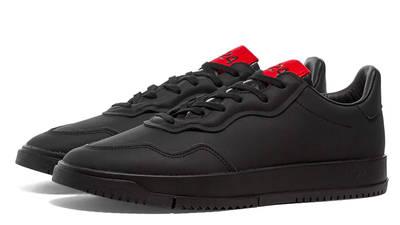 adidas x 424 sc premiere black pair shot